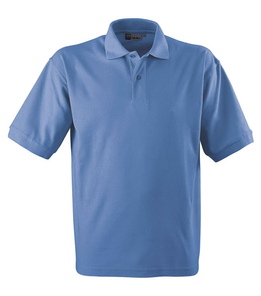 Koszulki Polo US 3177F95 Boston Polo Basic - 3177F95_niebieski_lodowy_US - Kolor: Niebieski lodowy