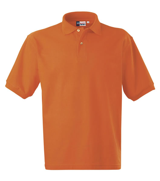 Koszulki Polo US 3177F95 Boston Polo Basic - 3177F95_pomaranczowy_US - Kolor: Pomarańczowy