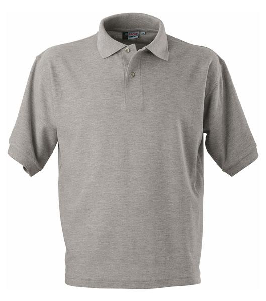 Koszulki Polo US 3177F95 Boston Polo Basic - 3177F95_popielaty_US - Kolor: Popielaty