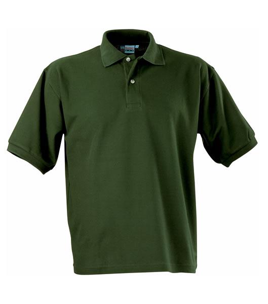 Koszulki Polo US 3177F95 Boston Polo Basic - 3177F95_zielen_butelkowa_US - Kolor: Zieleń butelkowa