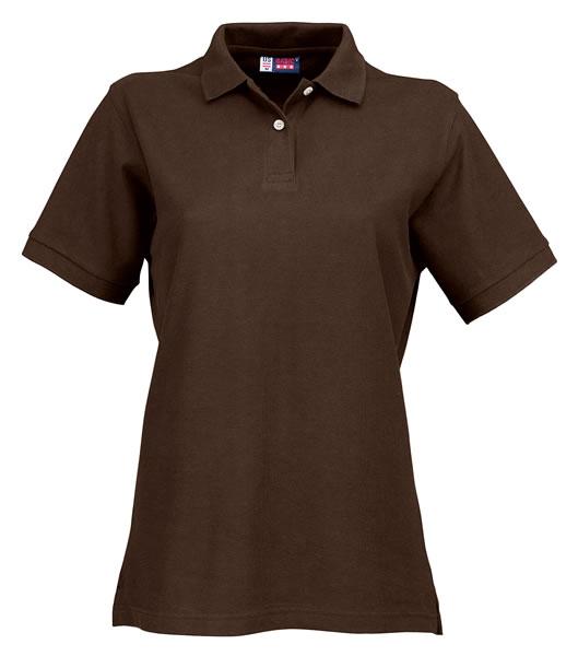 Koszulki Polo Ladies US 3108609 Boston Polo Damskie - 3108609_brązowy_US - Kolor: Brązowy