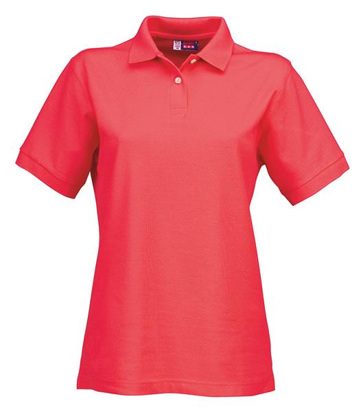 Koszulki Polo Ladies US 3108609 Boston Polo Damskie - 3108609_czerwony_US - Kolor: Czerwony