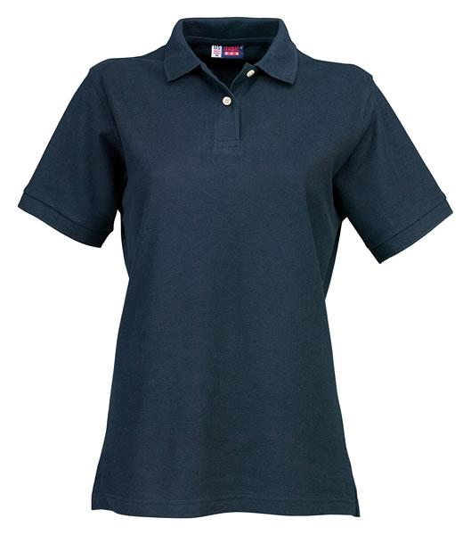 Koszulki Polo Ladies US 3108609 Boston Polo Damskie - 3108609_granatowy_US - Kolor: Granatowy