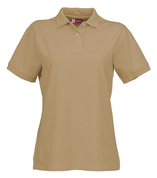 Koszulki Polo Ladies US 3108609 Boston Polo Damskie - 3108609_khaki_US - Kolor: Khaki