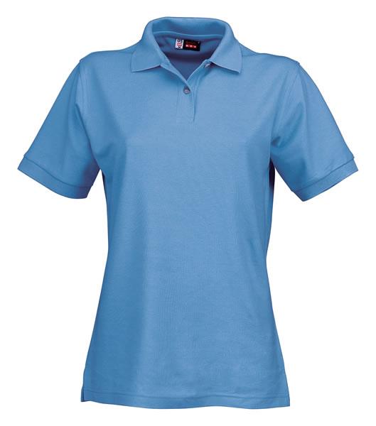 Koszulki Polo Ladies US 3108609 Boston Polo Damskie - 3108609_niebieski_lodowy_US - Kolor: Niebieski lodowy