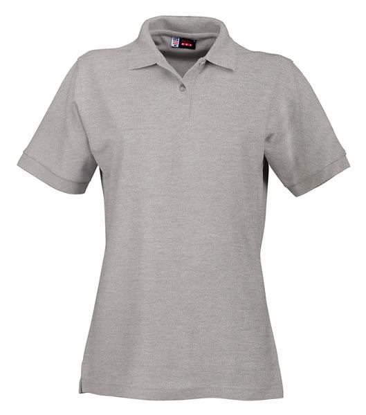 Koszulki Polo Ladies US 3108609 Boston Polo Damskie - 3108609_popielaty_US - Kolor: Popielaty