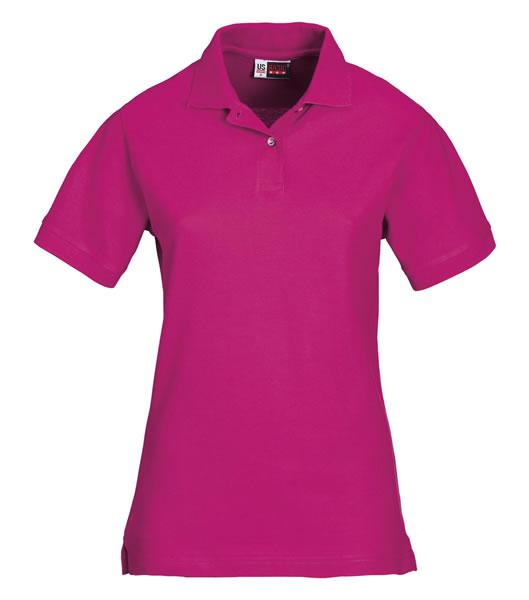 Koszulki Polo Ladies US 3108609 Boston Polo Damskie - 3108609_różowy_US - Kolor: Różowy