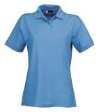 Koszulki Polo Ladies US 3108609 Boston Polo Damskie - 3108609_niebieski_lodowy_US Niebieski lodowy