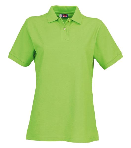 Koszulki Polo Ladies US 3108609 Boston Polo Damskie - 3108609_zielone_jabłuszko_US - Kolor: Zielone jabłuszko