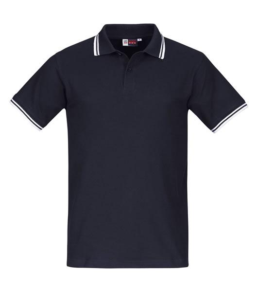Koszulki Polo US 3110047 Polo Erie - 3110047_granatowy_biały_US - Kolor: Granatowy / Biały