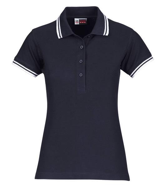 Koszulki Polo Ladies US 3109947 Polo Erie Damskie - 3109947_granatowy_biały_US - Kolor: Granatowy / Biały