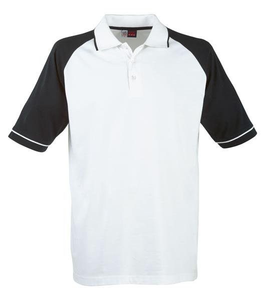 Koszulki Polo US 3108133 Polo Sydney Reglan - 3108133_biały_granatowy_US - Kolor: Biały / Granatowy