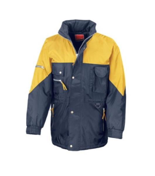 Kurtka R25 - 425.33_navy_yellow_R - Kolor: Navy / Yellow
