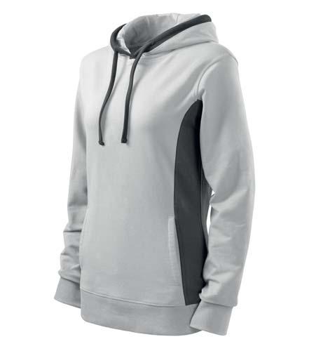 Bluza damska  A 408 Kangaroo - 408_00_C - Kolor: Biały