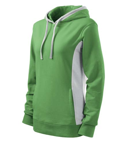Bluza damska  A 408 Kangaroo - 408_39_C - Kolor: Groszkowy