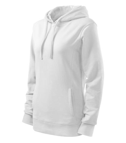 Bluza damska  A 408 Kangaroo - 408_ww_C - Kolor: White / White