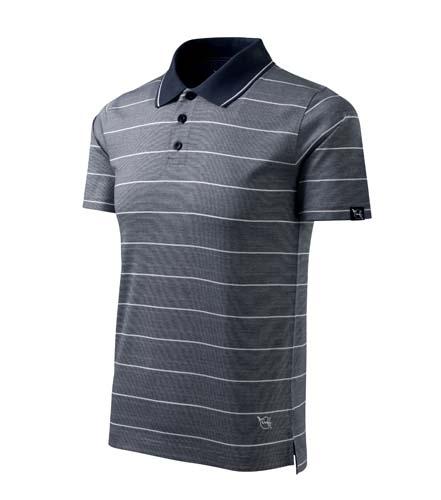 Koszulki polo Malfini A 250 Spirit striped - 250_79_C - Kolor: Stripes ombre blue