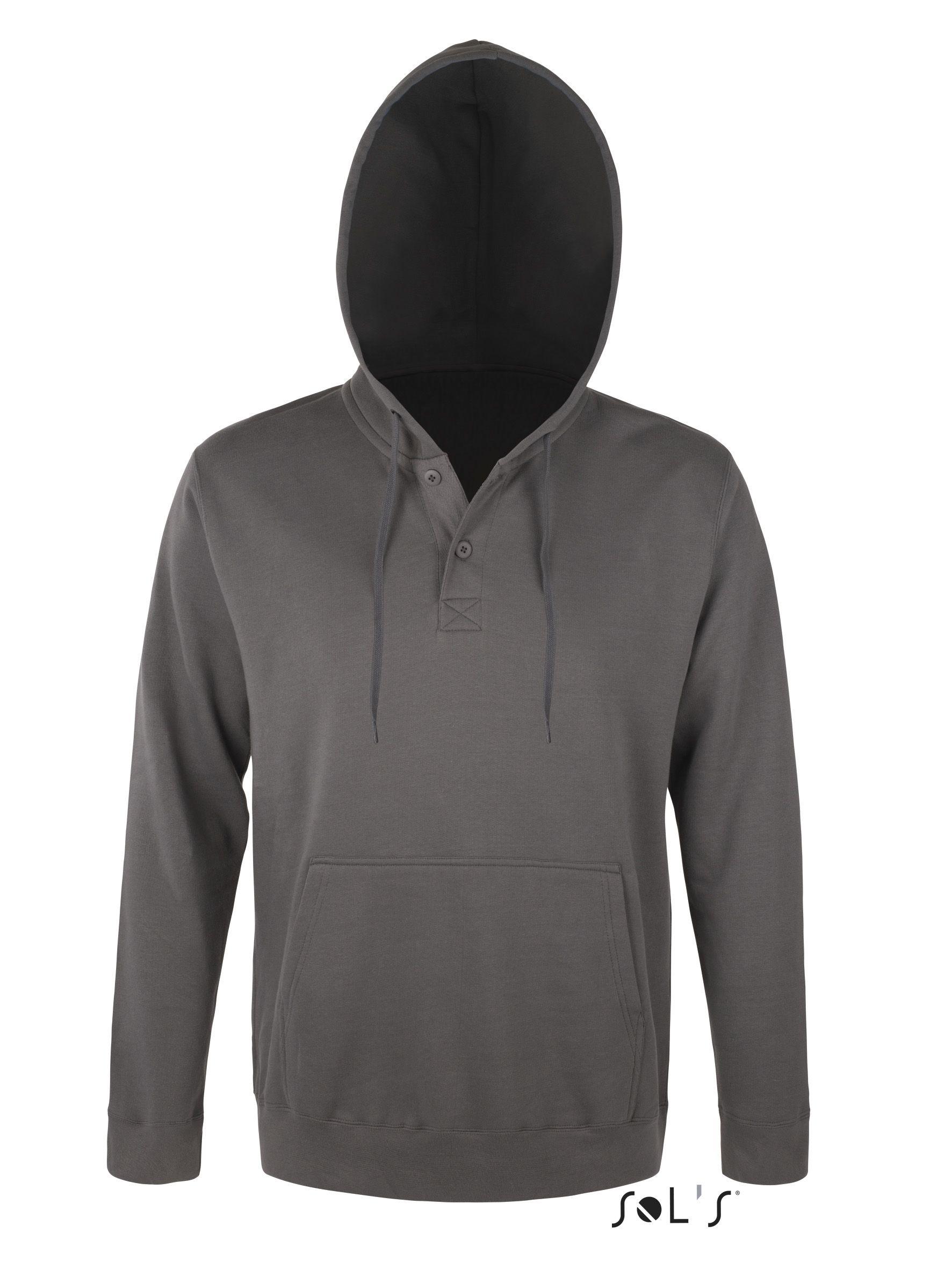 Bluza dresowa S 47301 Saturn 320 - 47301_gris flanelle_S - Kolor: Gris flanelle