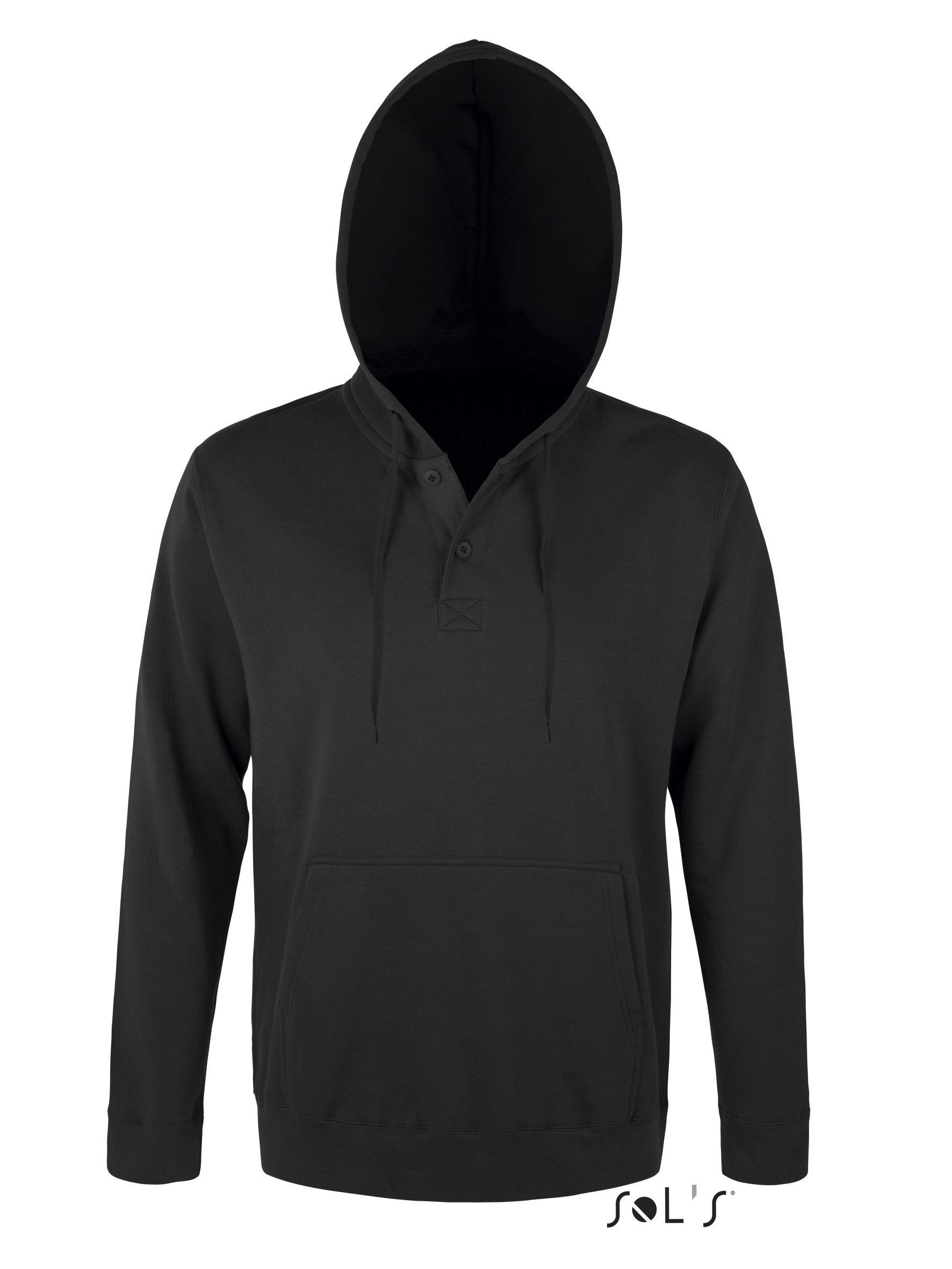 Bluza dresowa S 47301 Saturn 320 - 47301_black_S - Kolor: Black