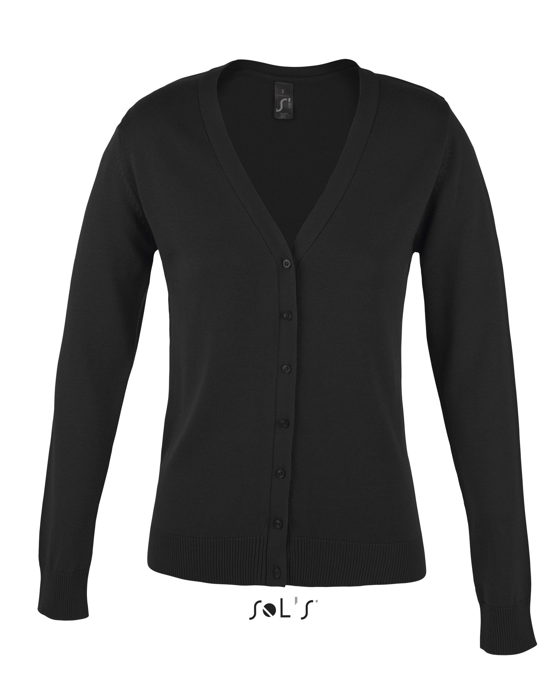 Sweter S 90012 Golden Women - 90012_black_S - Kolor: Black