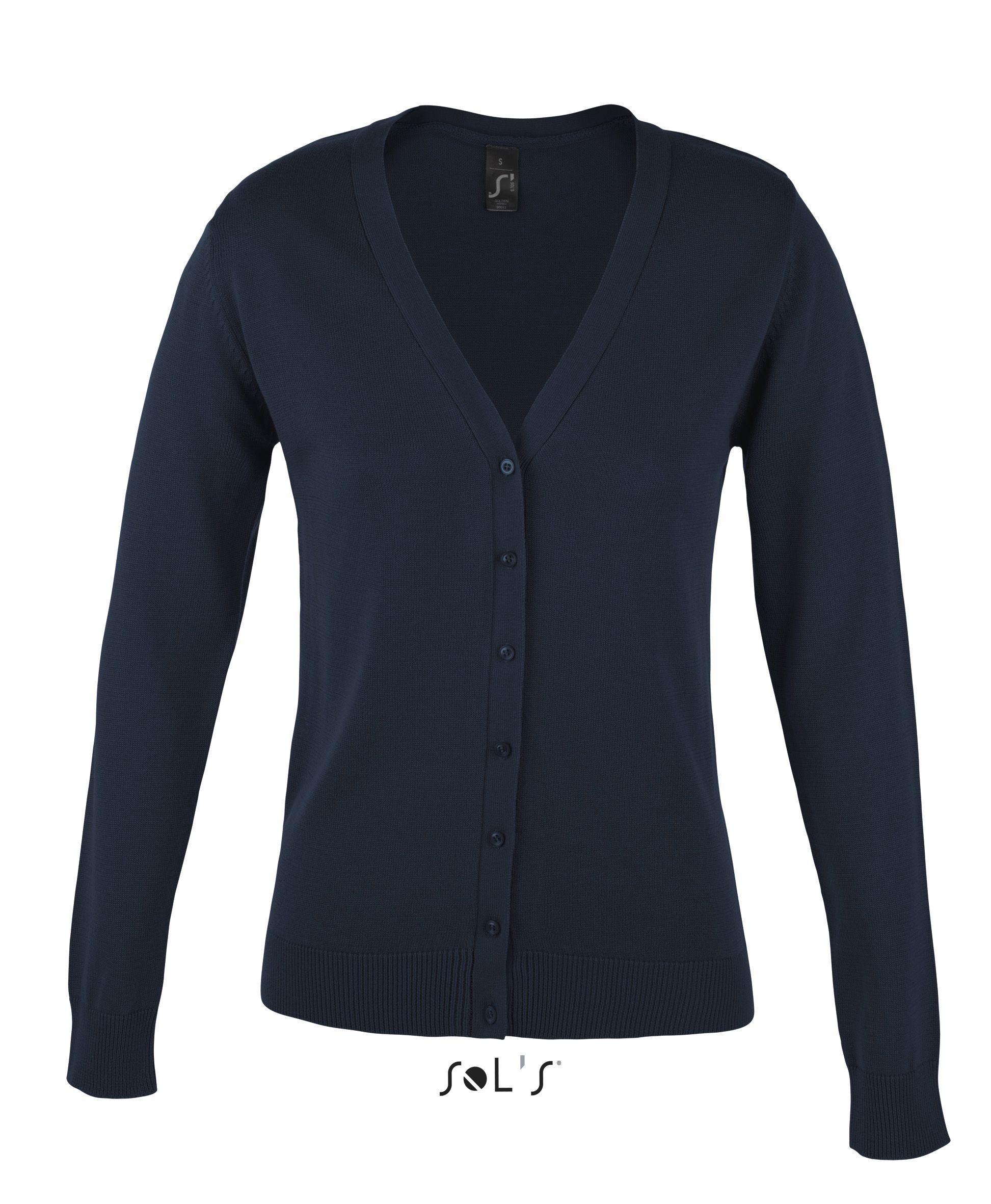 Sweter S 90012 Golden Women - 90012_navy_S - Kolor: Navy