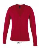 Sweter S 90012 Golden Women - 90012_red_S Red