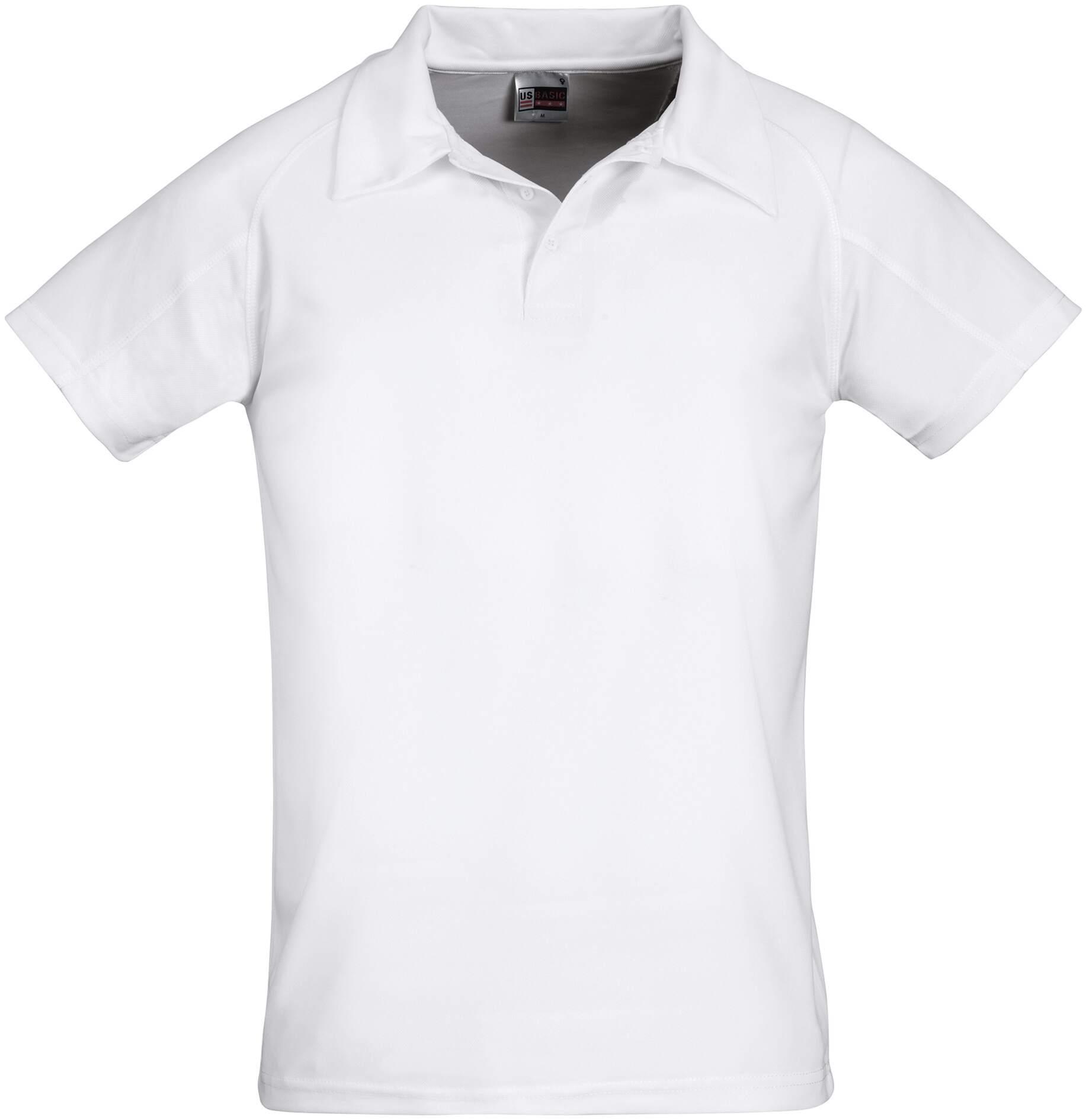 Koszulki Polo US 31098 Cool Fit - 31098_biały_US - Kolor: Biały