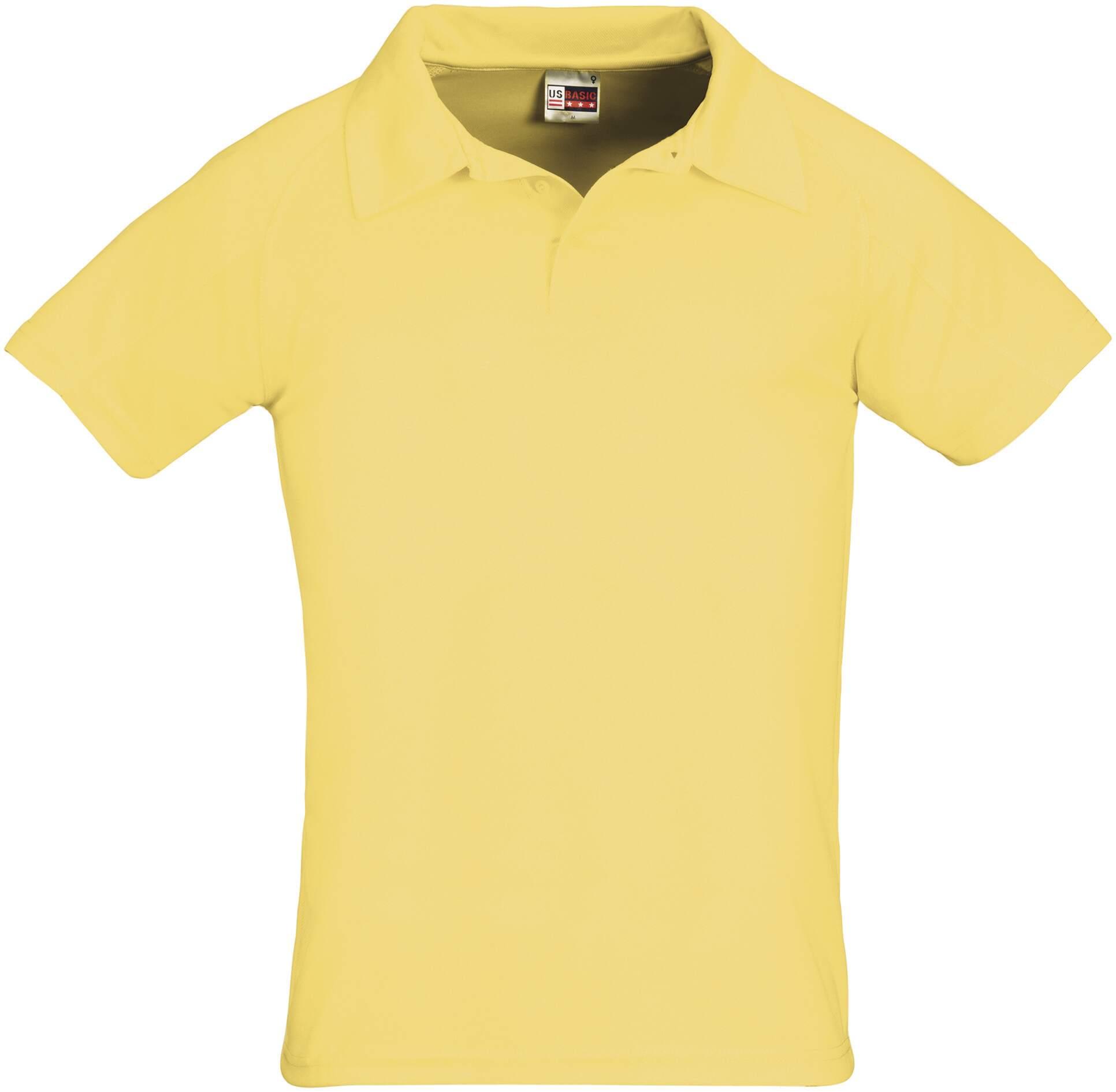 Koszulki Polo US 31098 Cool Fit - 31098_żółty_US - Kolor: Żółty