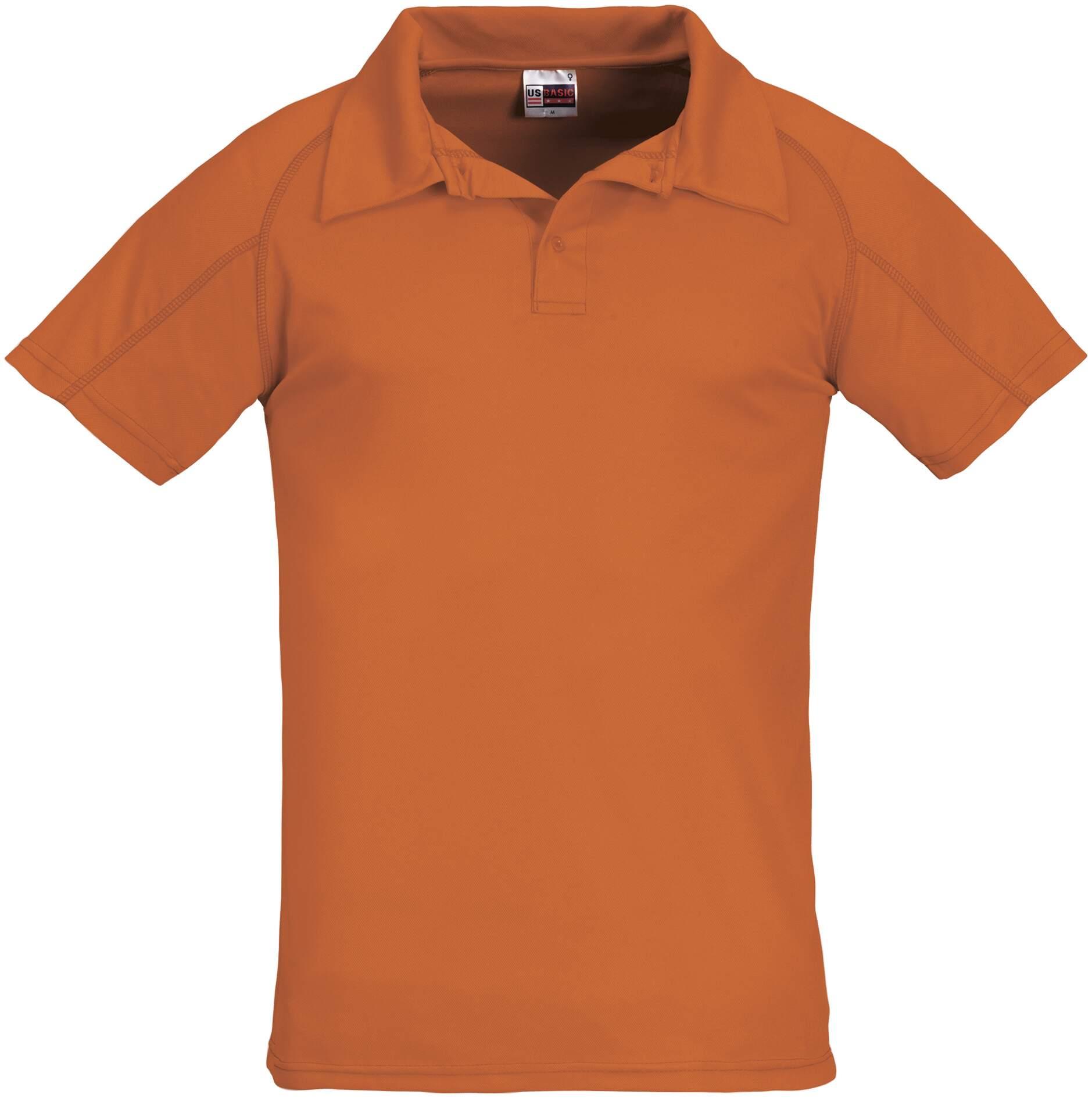 Koszulki Polo US 31098 Cool Fit - 31098_pomarańczowy_US - Kolor: Pomarańczowy