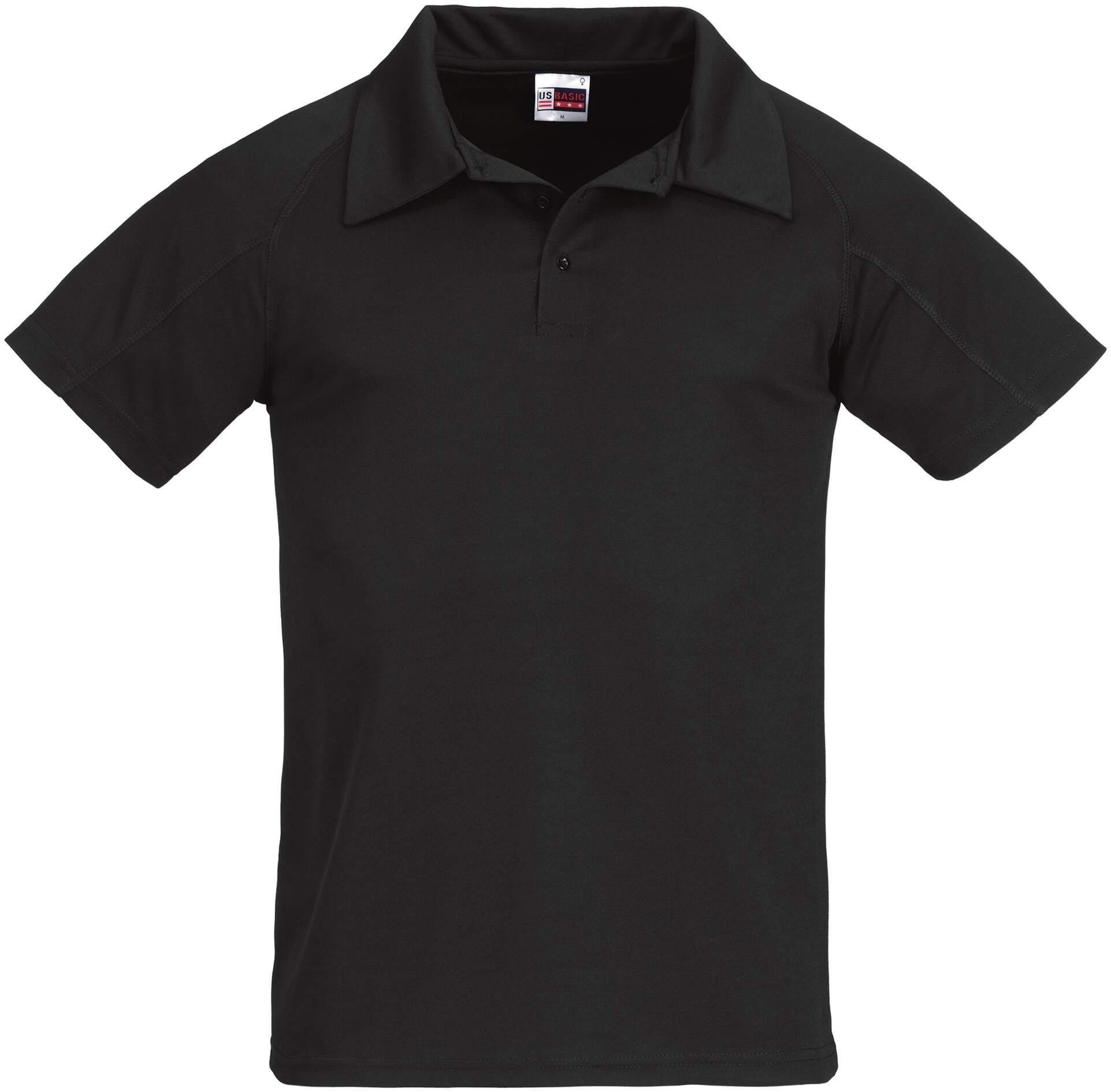 Koszulki Polo US 31098 Cool Fit - 31098_czarny_US - Kolor: Czarny
