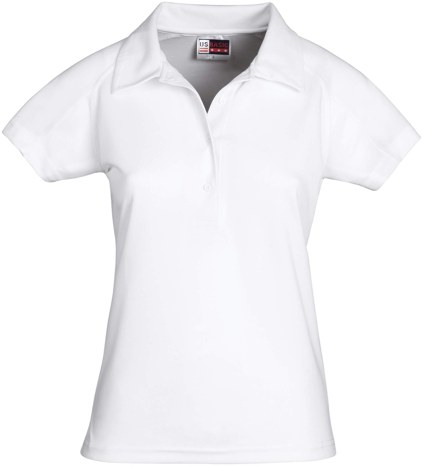 Koszulki Polo US 31097 Cool Fit - 31097_biały_US - Kolor: Biały