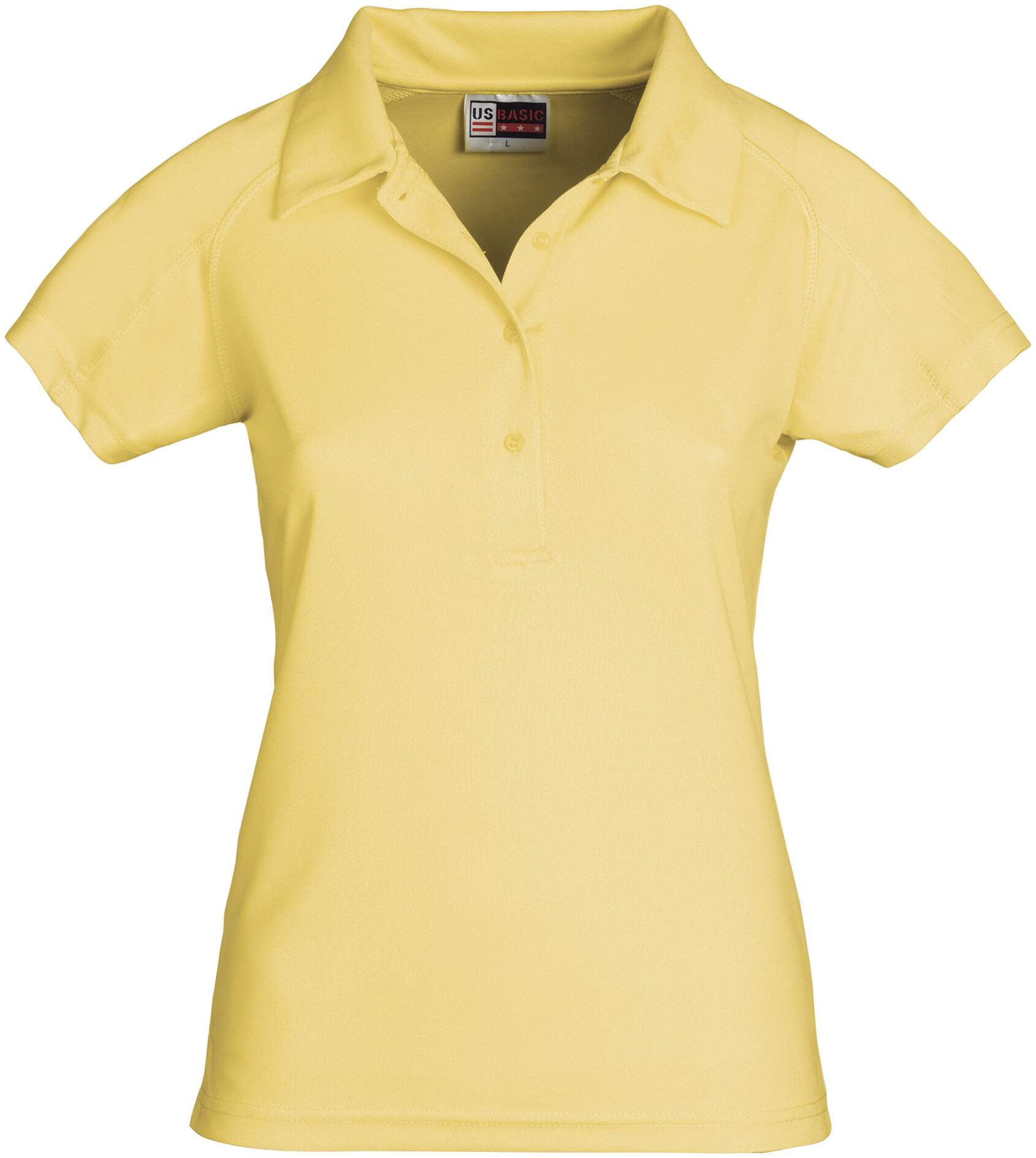 Koszulki Polo US 31097 Cool Fit - 31097_żółty_US - Kolor: Żółty