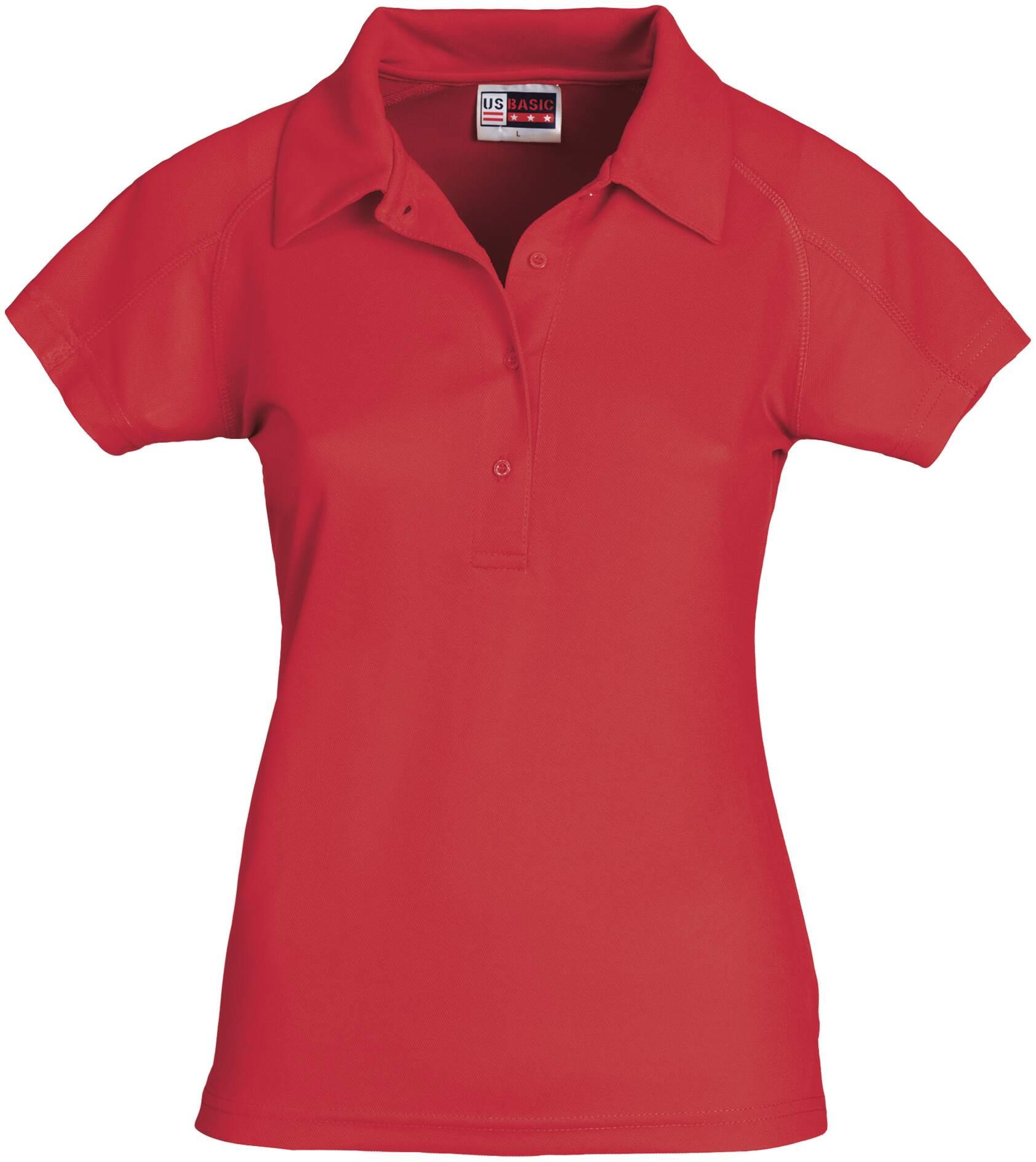 Koszulki Polo US 31097 Cool Fit - 31097_czerwony_Us - Kolor: Czerwony