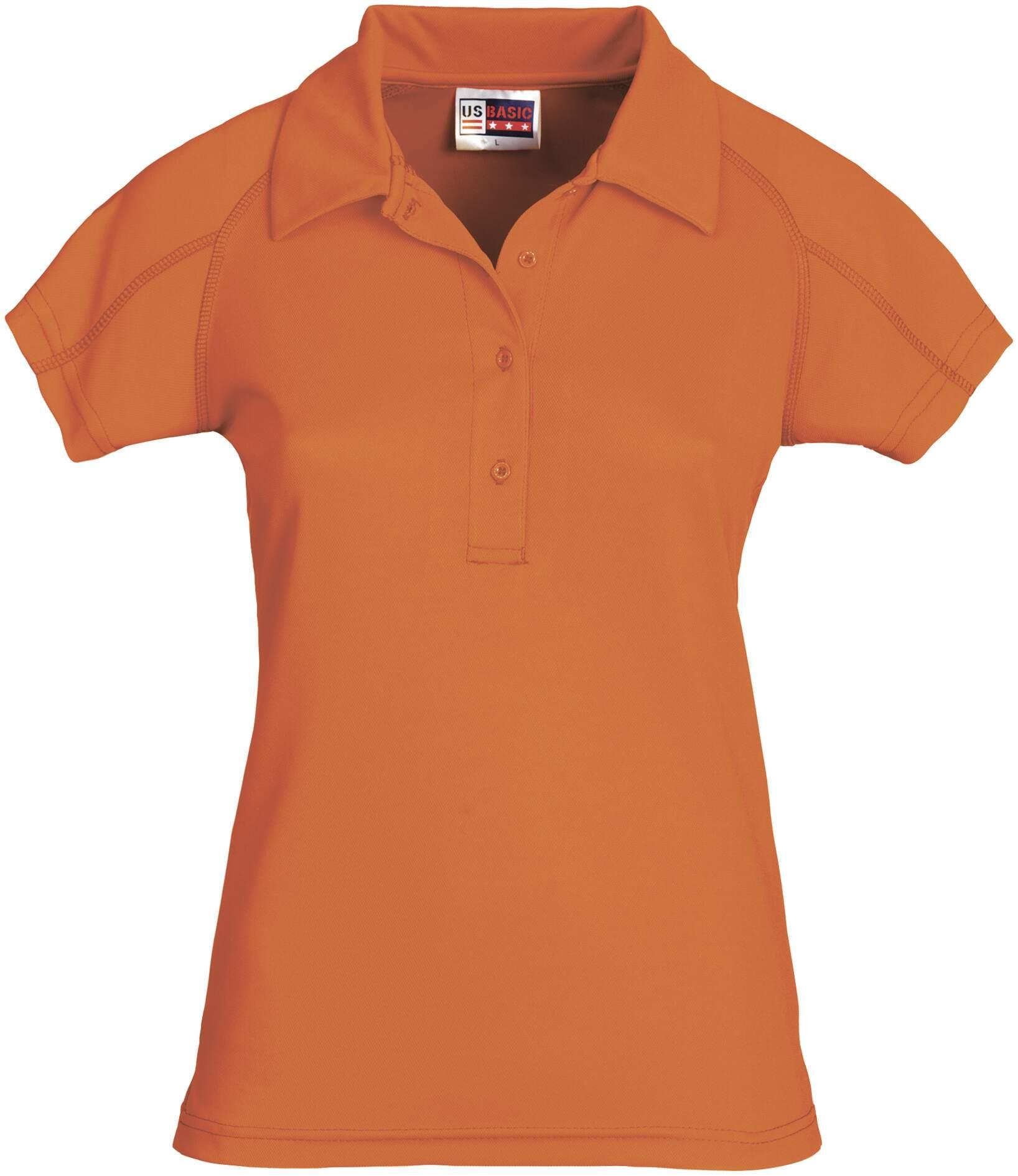 Koszulki Polo US 31097 Cool Fit - 31097_pomarańczowy_US - Kolor: Pomarańczowy