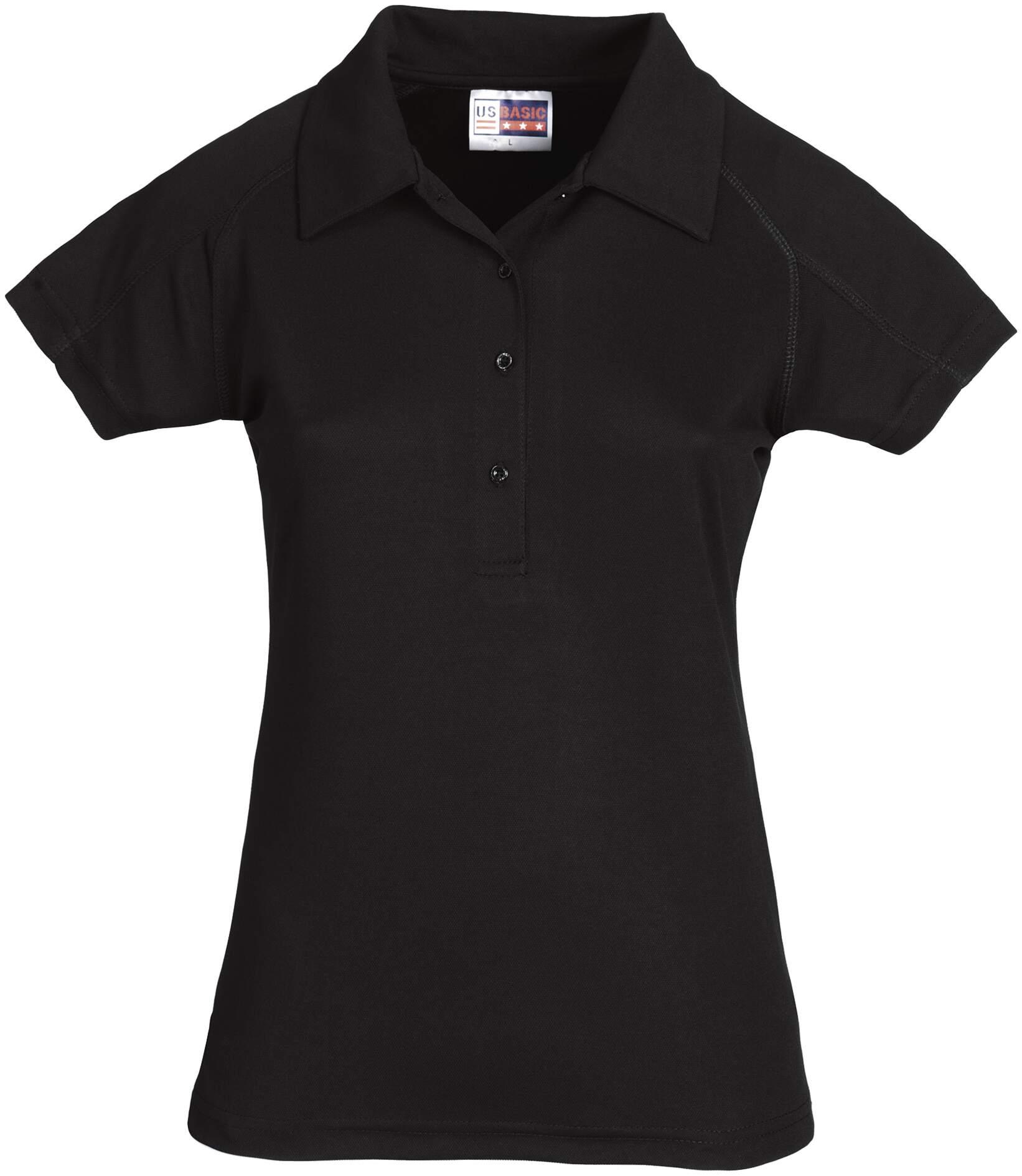 Koszulki Polo US 31097 Cool Fit - 31097_czarny_US - Kolor: Czarny
