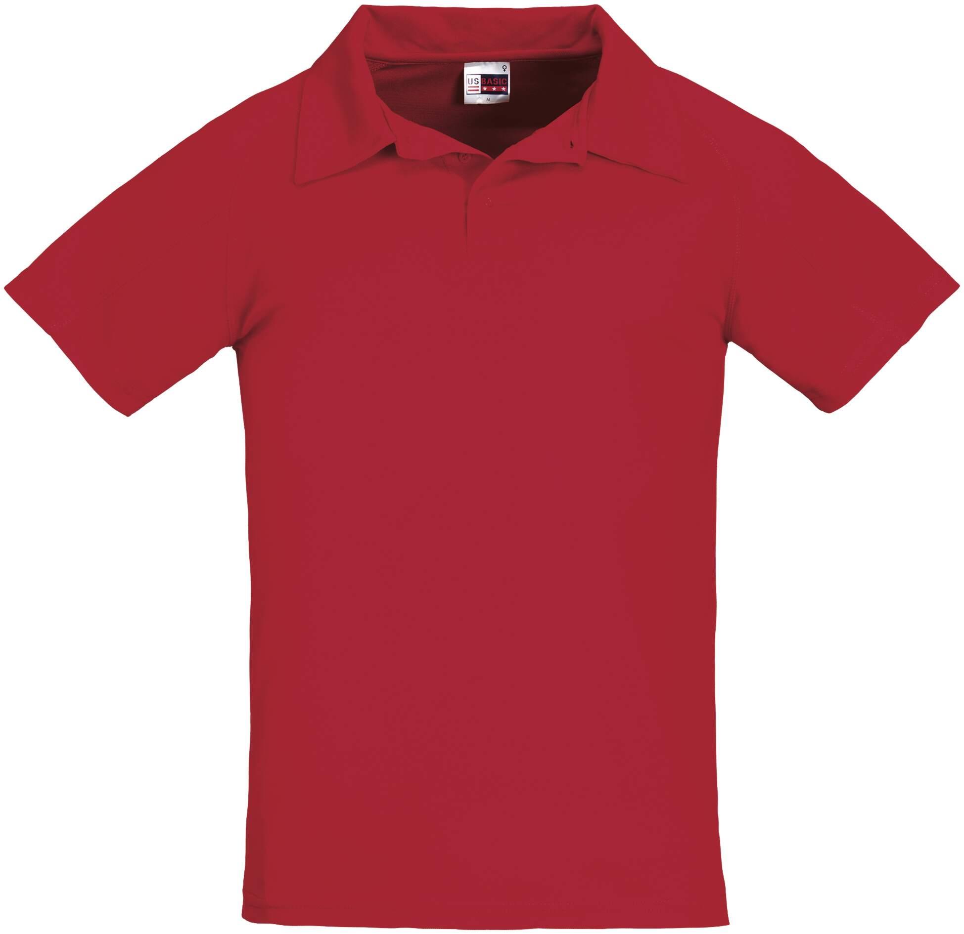 Koszulku Polo US 31098 Cool Fit - 31098_czerwony_US - Kolor: Czerwony