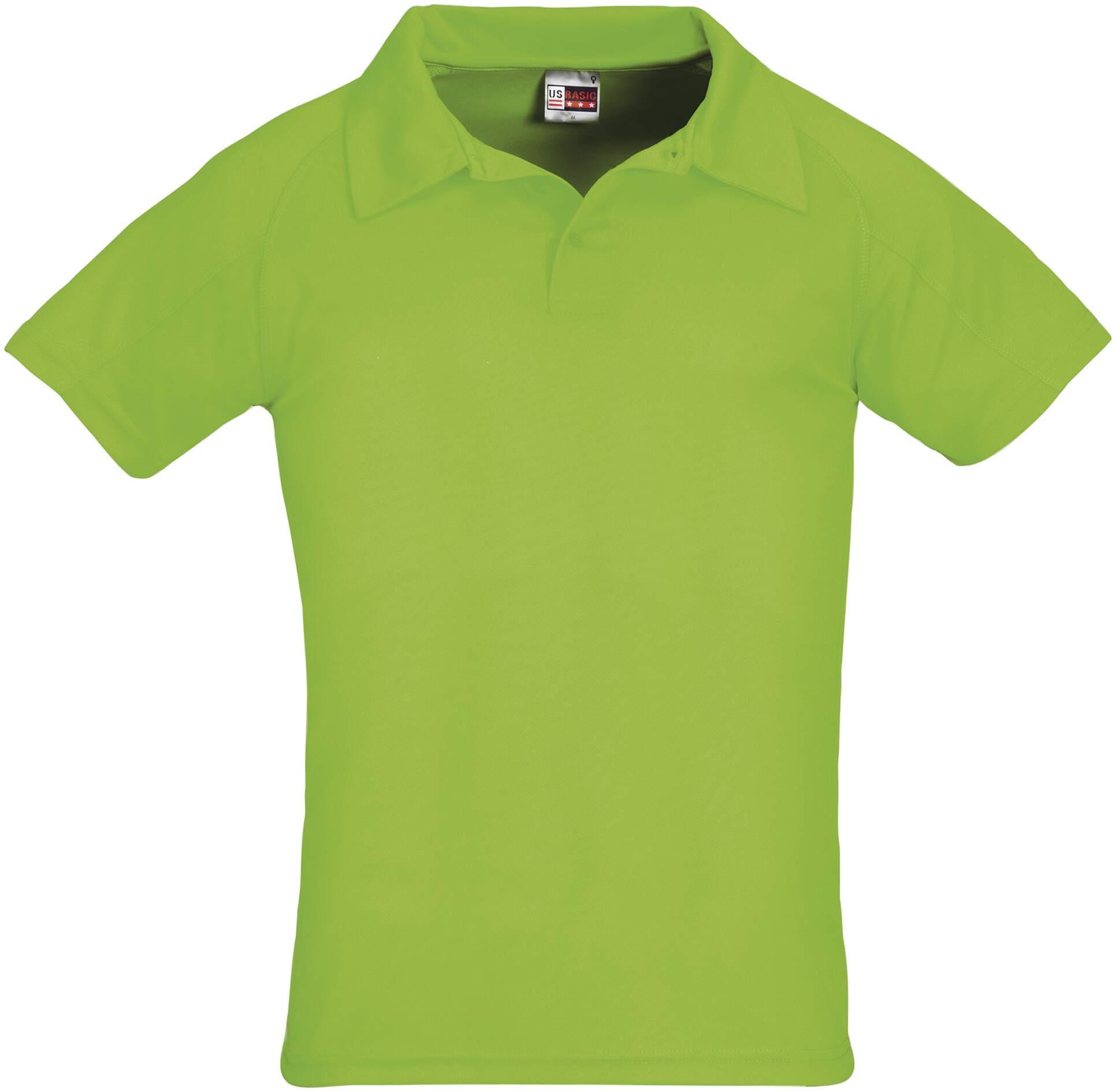 Koszulku Polo US 31098 Cool Fit - 31098_zielony_US - Kolor: Zielony
