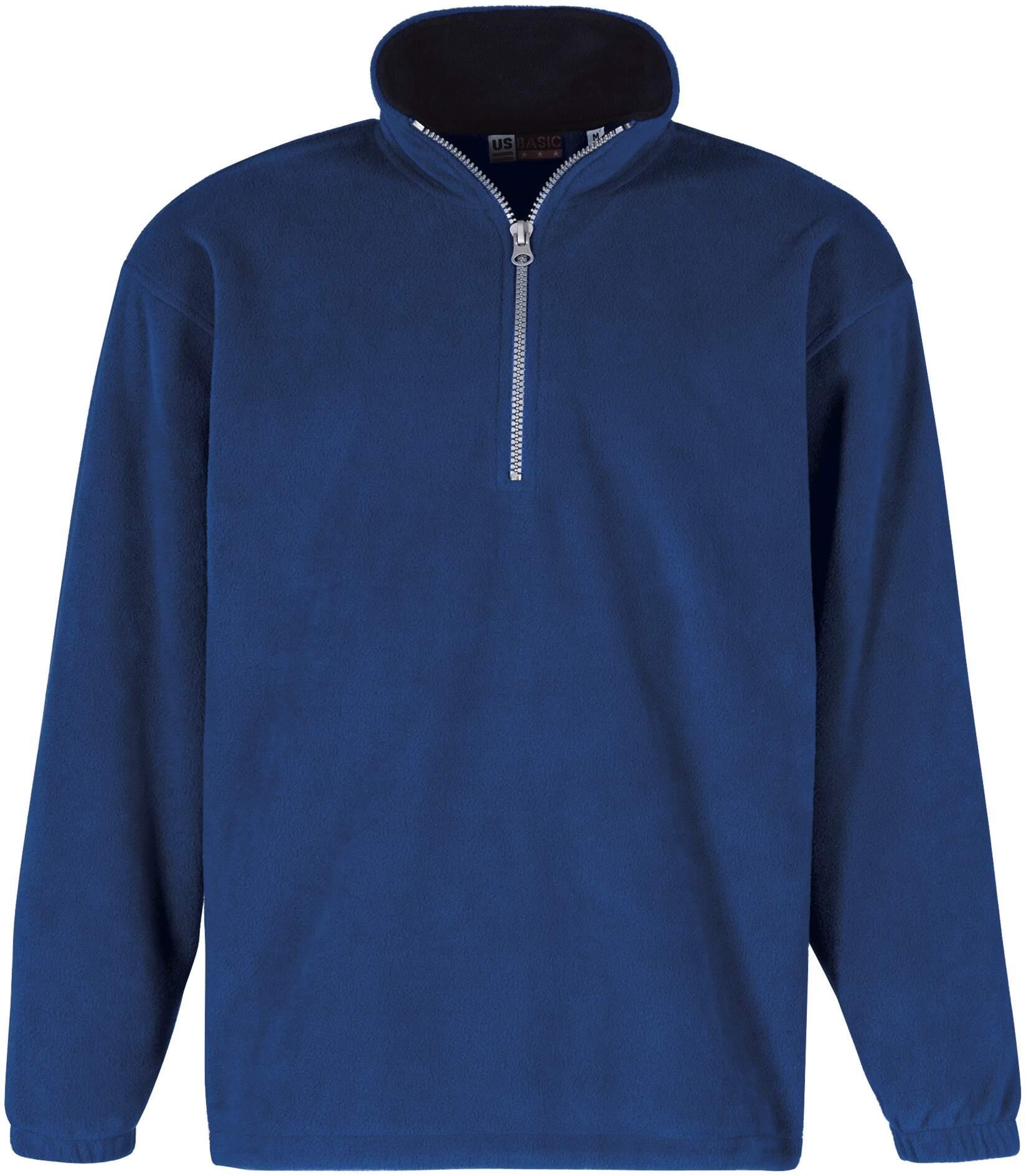 Bluza Polarowa 31797 Taos Us - 31797_błękit królewski_granatowy_US - Kolor: Błękit królewski/Granatowy