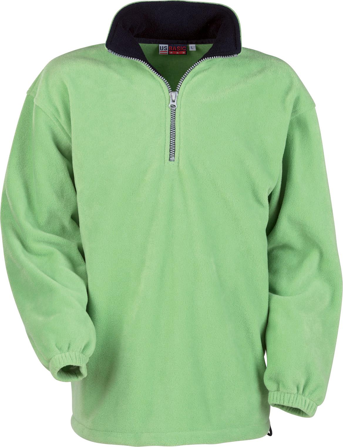 Bluza Polarowa 31797 Taos Us - 31797_zielony_granatowy - Kolor: Zielony/Granatowy