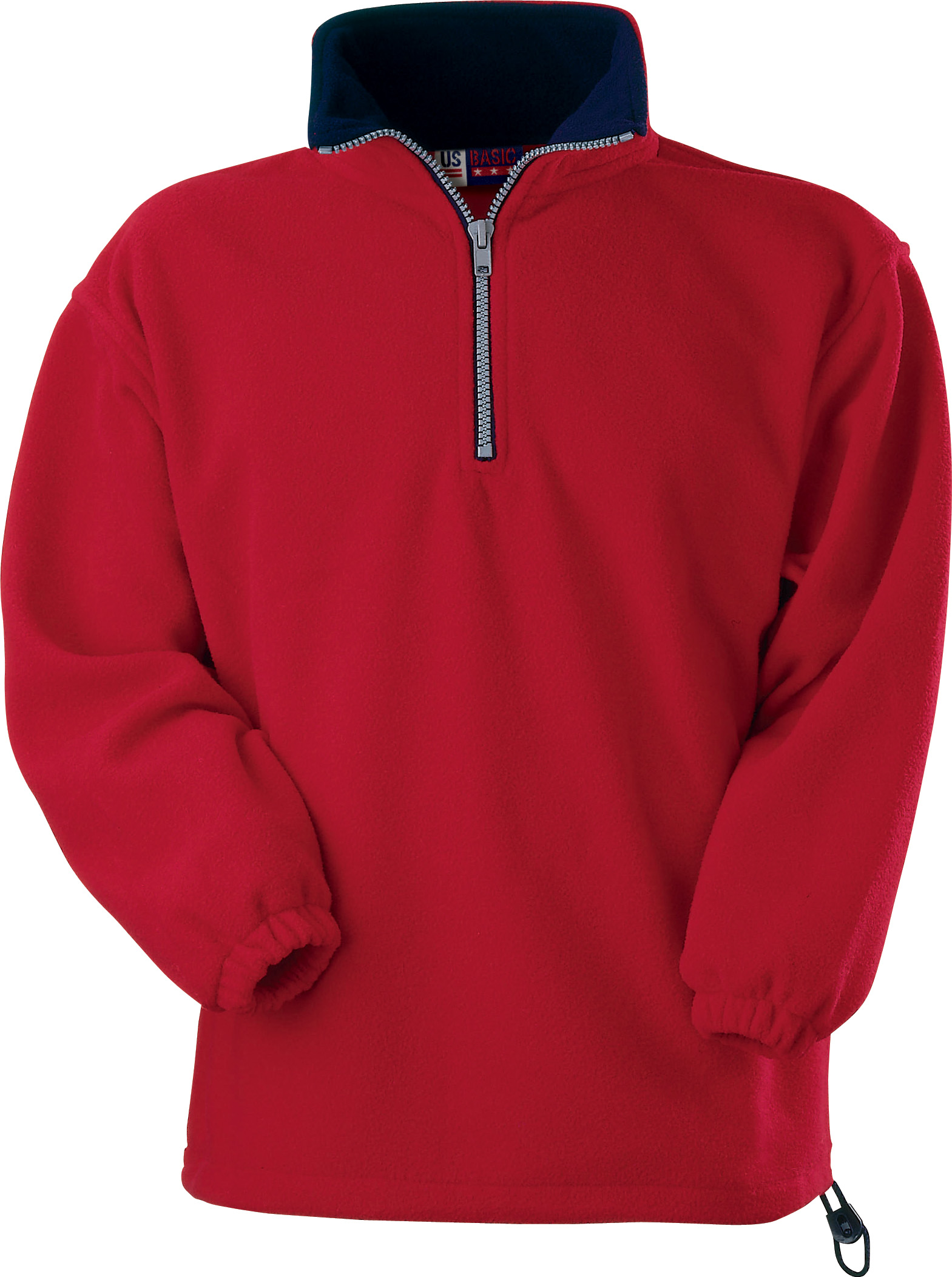 Bluza Polarowa 31797 Taos Us - 31797_czerwony_granatowy_US - Kolor: Czerwony/Granatowy