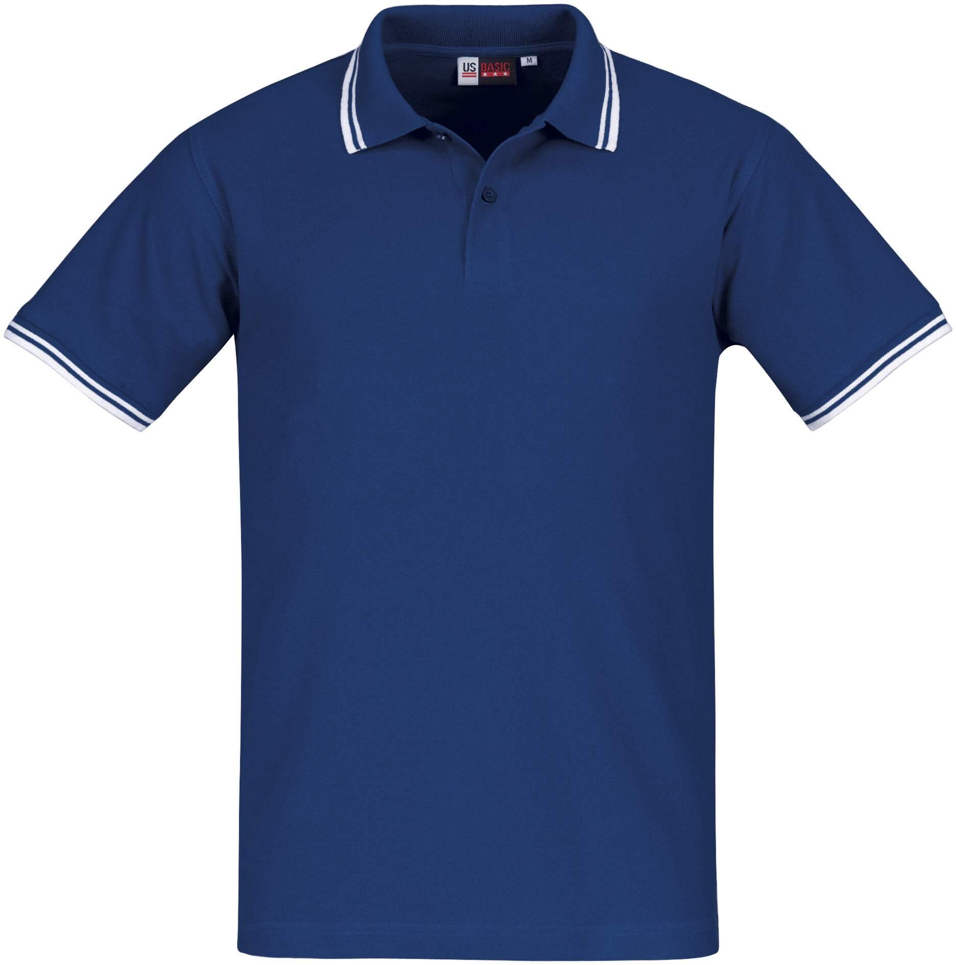 Koszulki Polo Lady US 31100 Erie - 31100_błekit królewski_biały_US - Kolor: Błękit królewski / Biały