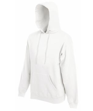 Bluza z kapturem FL - Hooded Sweat   - FL_ 62-208-0_biały - Kolor: Biały