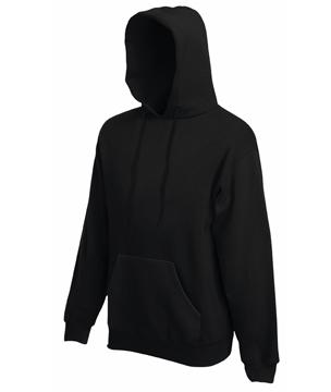 Bluza z kapturem FL - Hooded Sweat   - FL_ 62-208-0_czarny - Kolor: Czarny