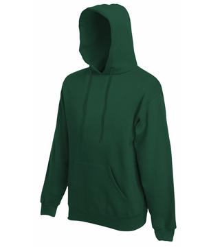 Bluza z kapturem FL - Hooded Sweat   - FL_ 62-208-0_bottle green - Kolor: Bottle green