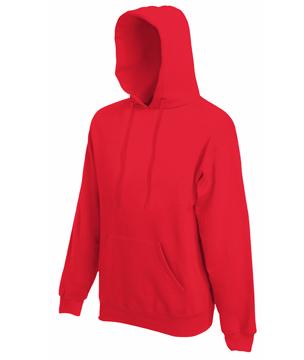 Bluza z kapturem FL - Hooded Sweat   - FL_ 62-208-0_czerwony - Kolor: Czerwony