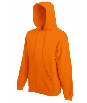 Bluza z kapturem FL - Hooded Sweat   - FL_ 62-208-0_pomarańczowy - Kolor: Pomarańczowy