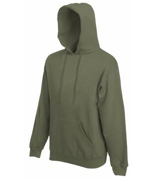 Bluza z kapturem FL - Hooded Sweat   - FL_ 62-208-0_oliwka - Kolor: Olive