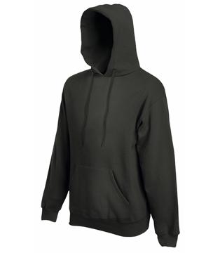 Bluza z kapturem FL - Hooded Sweat   - FL_ 62-208-0_ciemnoszary - Kolor: Ciemnoszary
