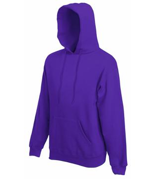 Bluza z kapturem FL - Hooded Sweat   - FL_ 62-208-0_fiolet - Kolor: Fiolet