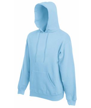 Bluza z kapturem FL - Hooded Sweat   - FL_ 62-208-0_błękitny - Kolor: Błękitny